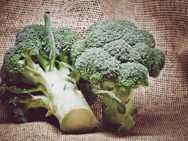 Broccoli i närbild